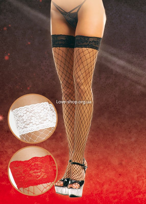 Stockings 5520 {} white/ 3